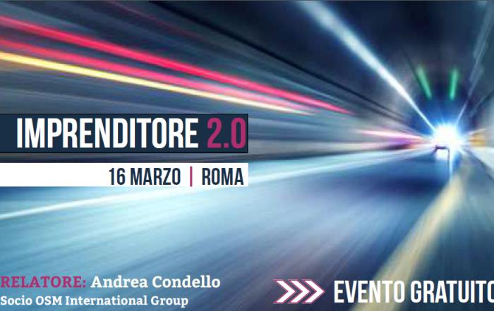 Imprenditore 2.0 | 16 marzo, Roma